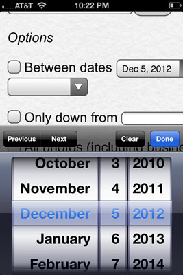iOS HTML5 Date Field